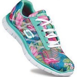 Skechers Flex Appeal Floral Bloom Sneaker